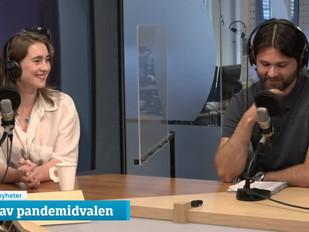Psykolog Bjarne Øverland har gjestet Helgemorgen i NRK1 og P2