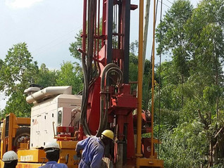 Drilling is Underway