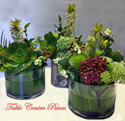 Table Centre Vases $40