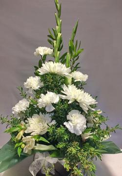 White Wreath $60