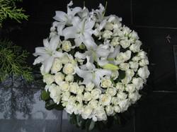White Rose & Lily Wreath.JPG