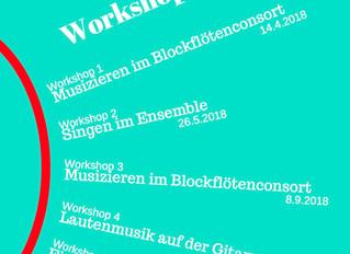 Barockcello-Workshop für Musica Antigua Winterthur