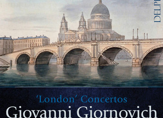 CD Release: Giornovich's violin concertos played by Bojan Cicic and The Illyria Consort