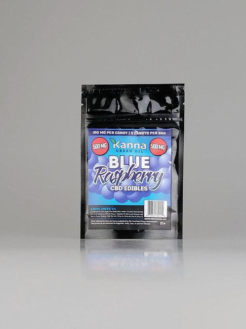 Gummy Candy Blue Raspberry 500mg by Kanna