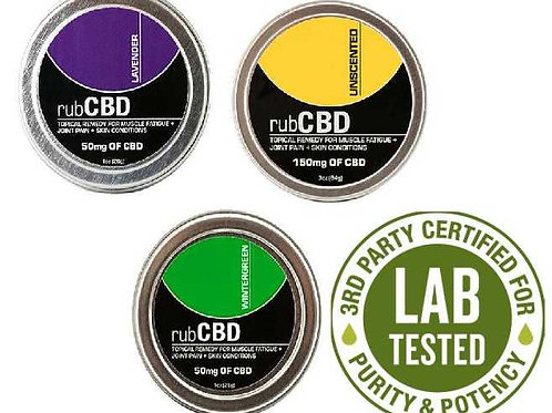 rub CBD Bundle 3Pack