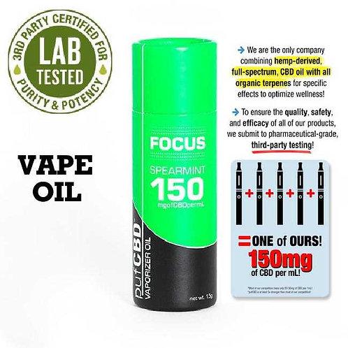 CBD Focus Vape Oil Spearmint