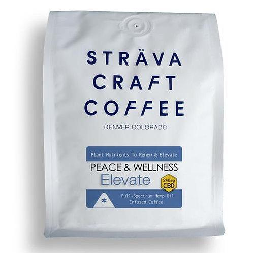 ELEVATE - Hemp Oil Infused Coffee (240mg CBD per 12oz Bag)
