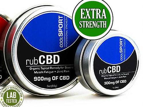 CBD Rub Cool Sport Extra Strength 900mg Of CBD