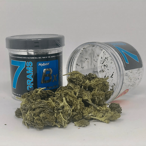 CBD Hemp Flower Berry Xotic 7 Grams