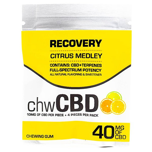 CBD Recovery Chewable Gum