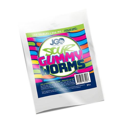 250MG CBD Sour Gummy Worms