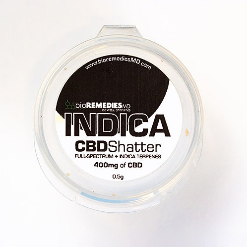 CBD Shatter – Smokable Indica