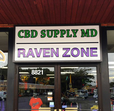 cbd supply baltimore store