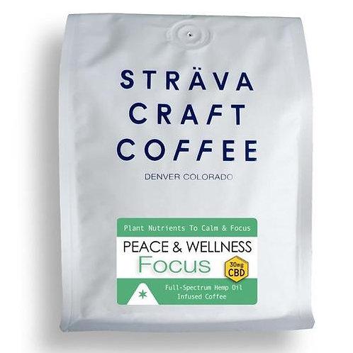 FOCUS - Hemp Oil Infused Coffee (30mg CBD per 12oz Bag)