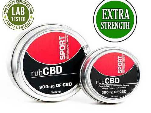 CBD Rub Sport Extra Strength 900mg Of CBD