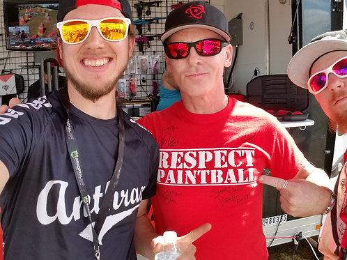 Respect Paintball Logo T-Shirt