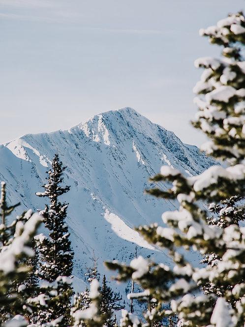 Snowy Mountainscape