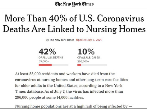 The COVID-19 Nursing Home Problem