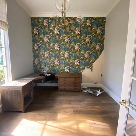 Remove wallpaper BEFORE