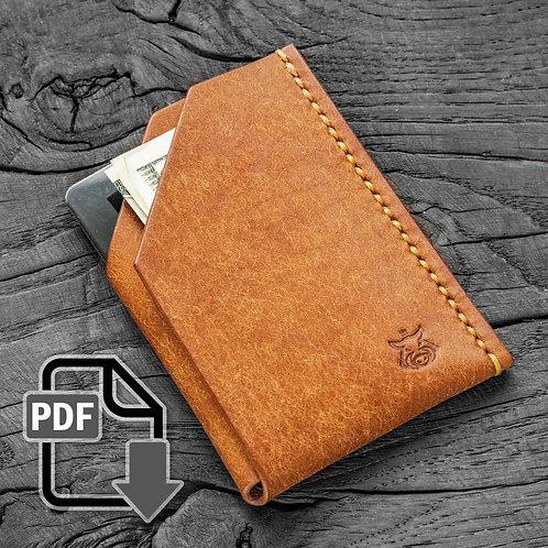 "PDF Template ""Shroud"" card holder"