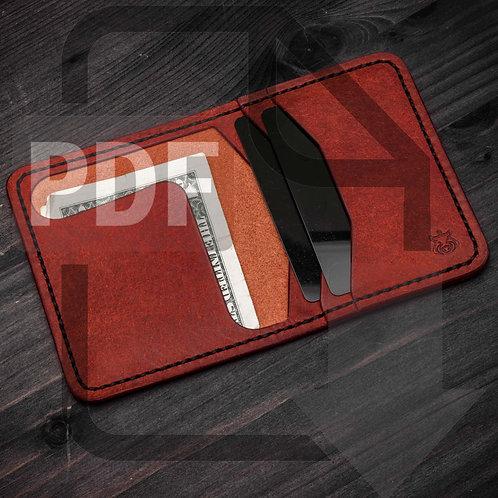 """PDF Template """"Bramble"""" wallet"""