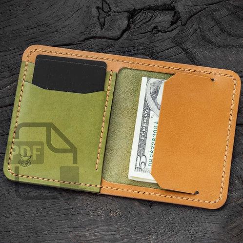 """PDF Template """"Bramble V2"""" wallet"""