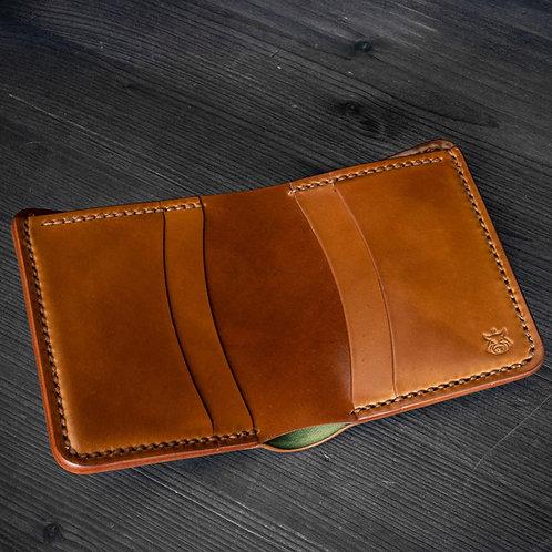 """Wallet """"Enigma"""" SHELL CORDOVAN"""