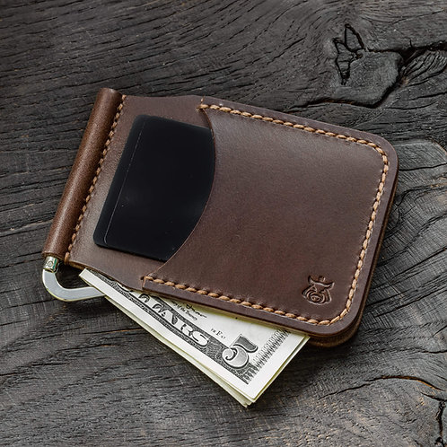 "Card holder with moneyclip ""Clap"""
