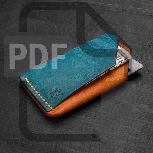 "PDF Template ""Double Shroud"" card holder"