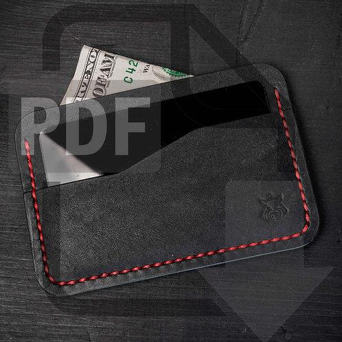 "PDF Template ""Rift"" card holder"