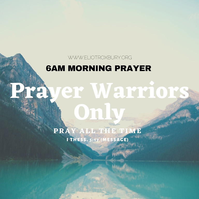 6AM Morning Prayer