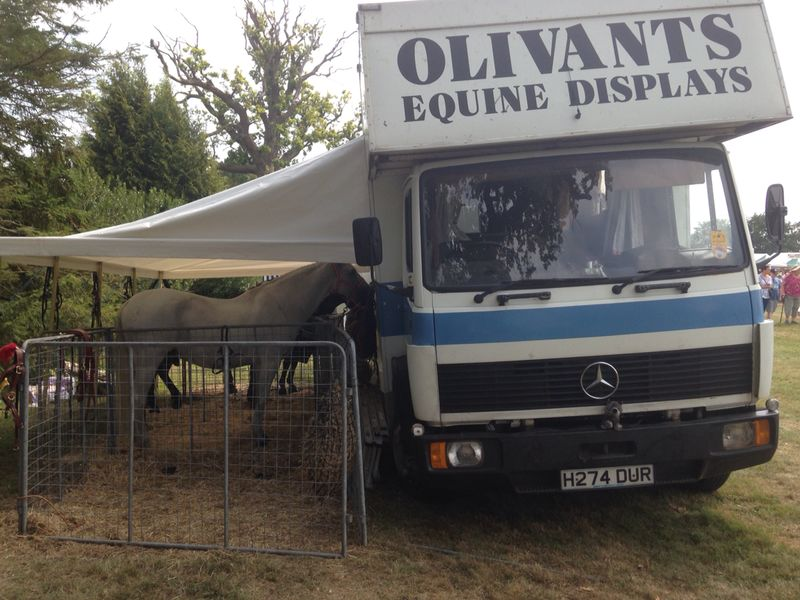 'BIG DUR' & her tented occupants