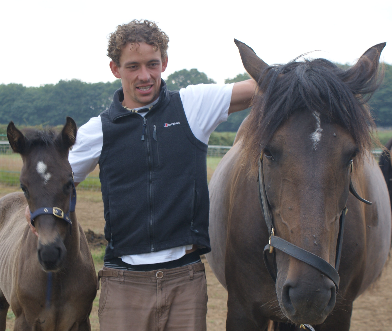 Pete with Estrella and Santiago