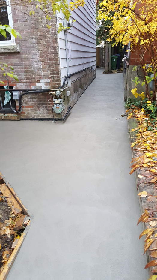 new walkway