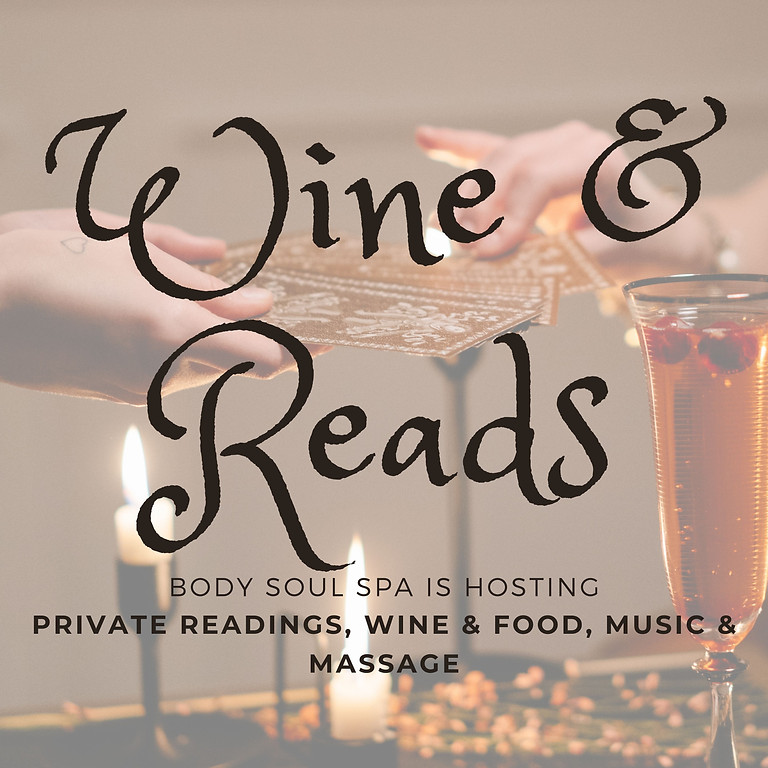 Wine & Reads: A Night of Intimate Readings & Fun