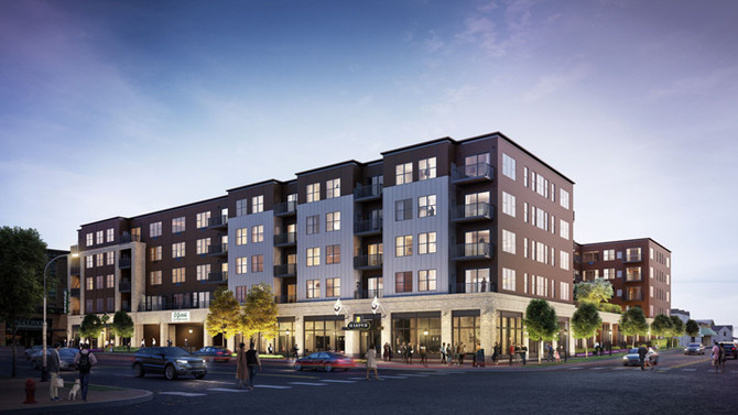 NEW Harper Apartments and Co-Working Spaces