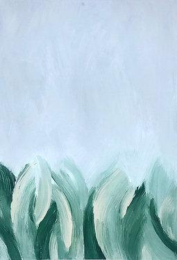 sea grasses | 11 x 14