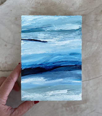 layers of storm | 5 x 7