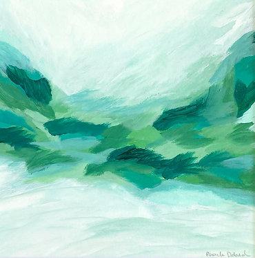 verdant | 14 x 14