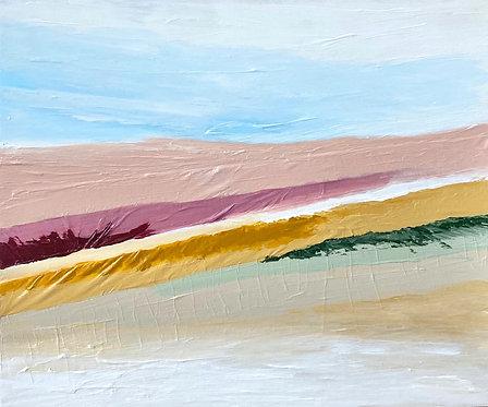 layers of desert   10 x 12