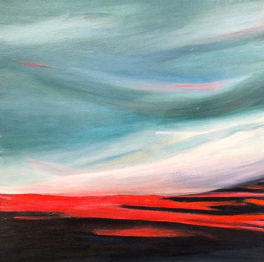 burning horizon | 14x14