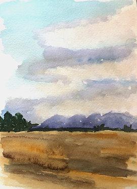 big sky montana | 8 x 10