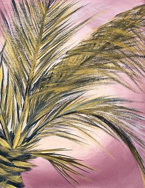 golden palm   11 X 14