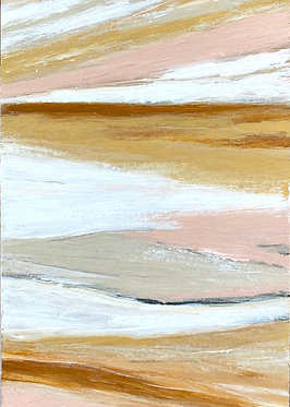 layers of shore | 5 x 7