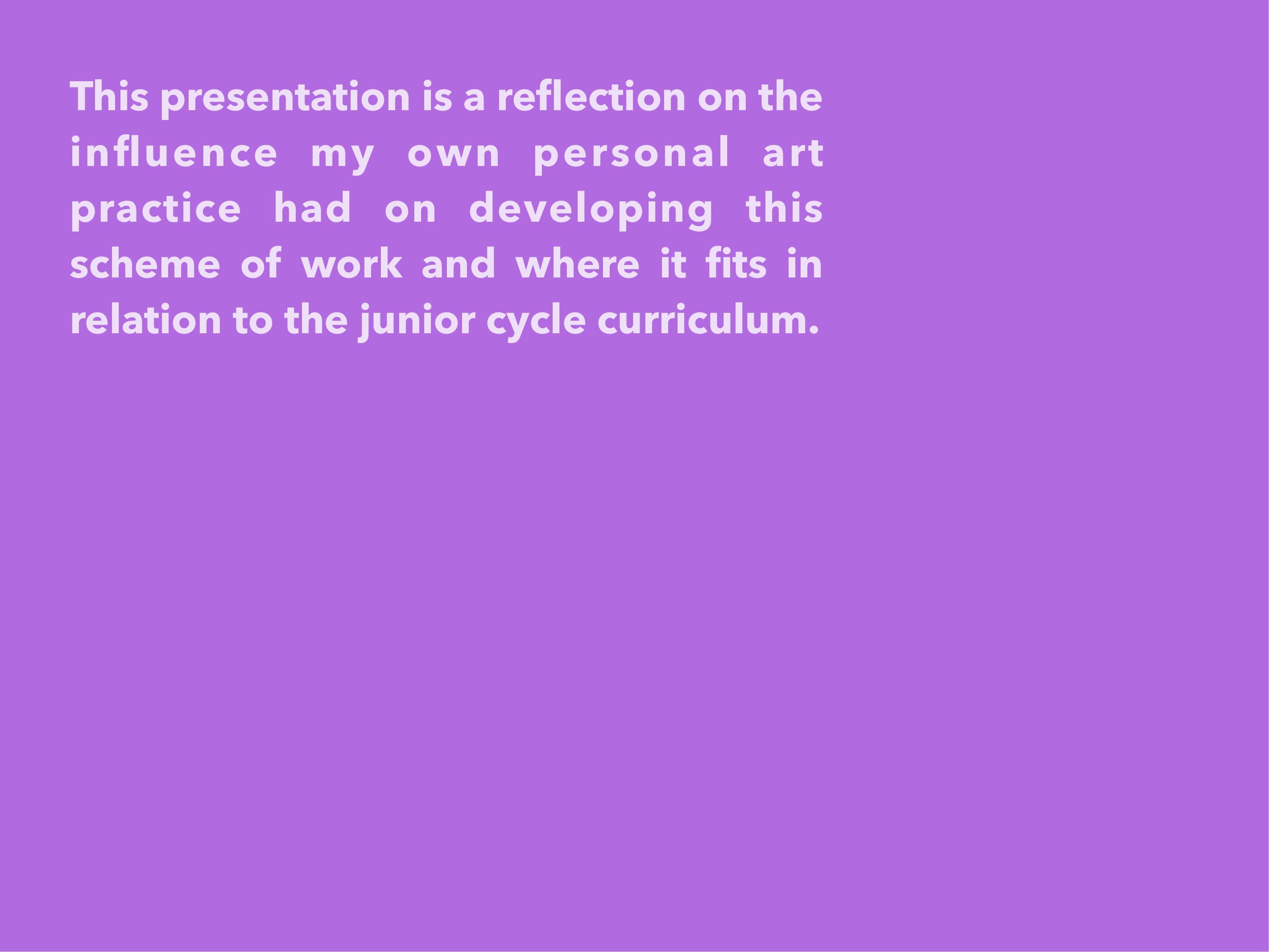 Niamh O'Toole Reflection 2017-02
