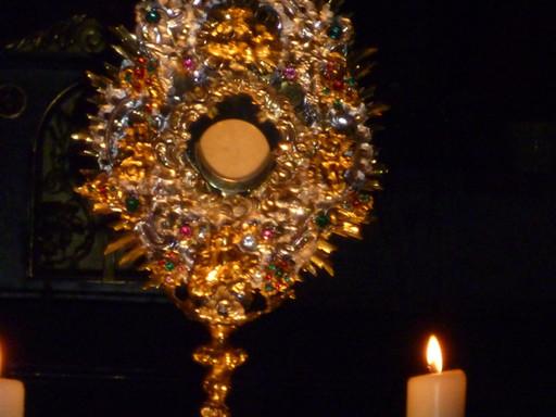 Eucharistische Anbetung/Aussetzung