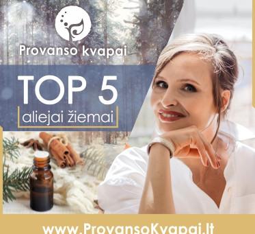 TOP 5 aliejai žiemos metu