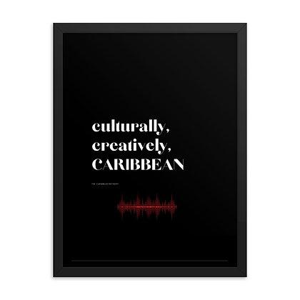 Beats Triple C Framed Poster