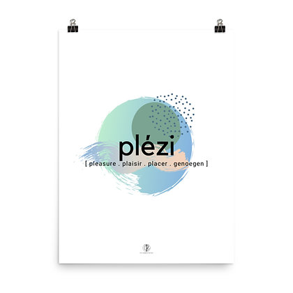 Créole Series Plézi Art Poster