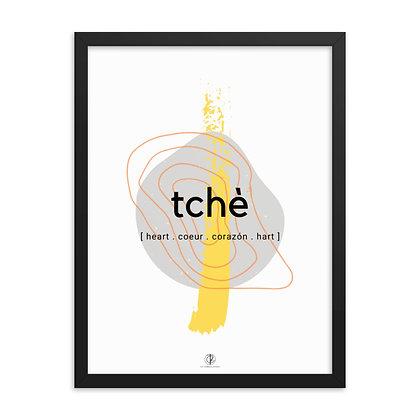 Créole Series Tchè Framed poster